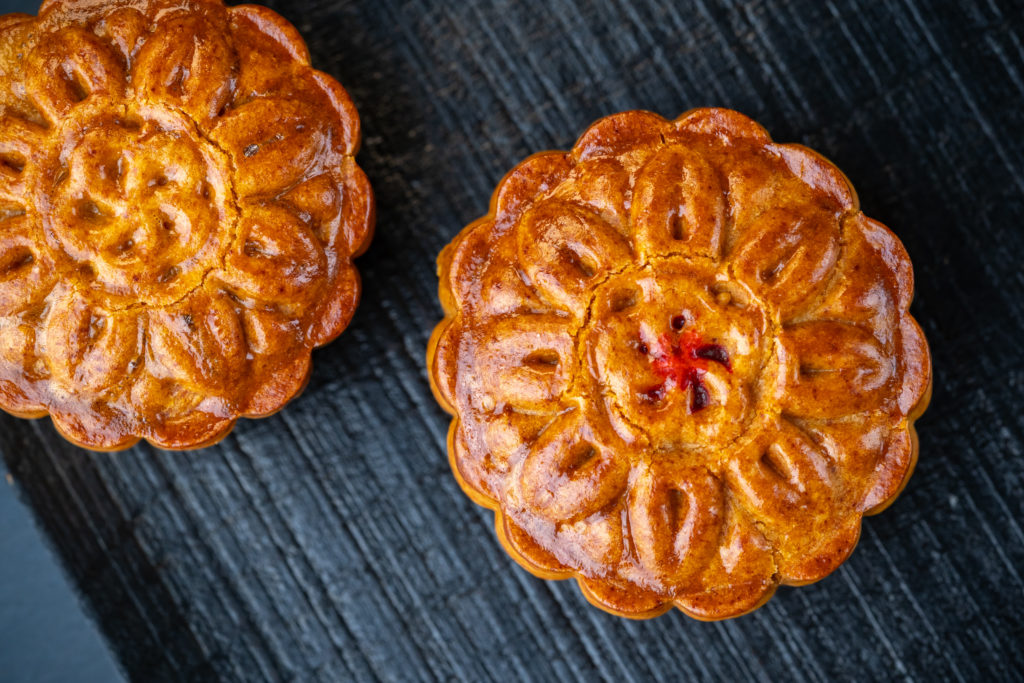 whole mooncakes