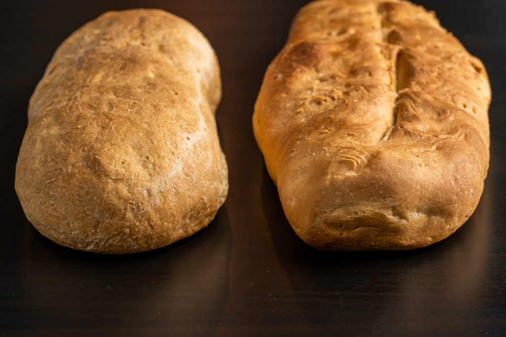the two loaves of bread