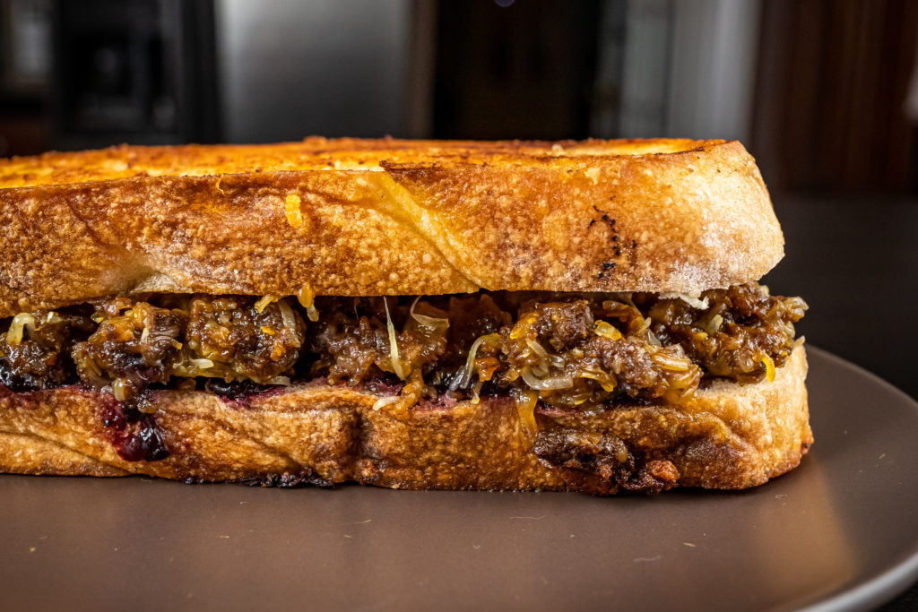 Curry Grilled Cheese